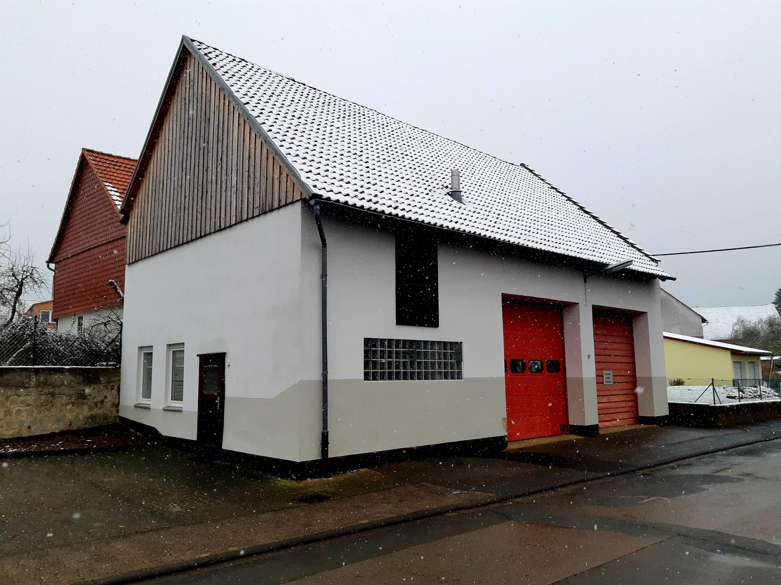 Fahrzeughalle 2 Feuerwehr Sachsenhausen