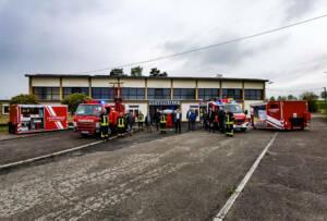Zwei besondere Einsatzfahrzeuge offiziell übergeben – WLF und MLF
