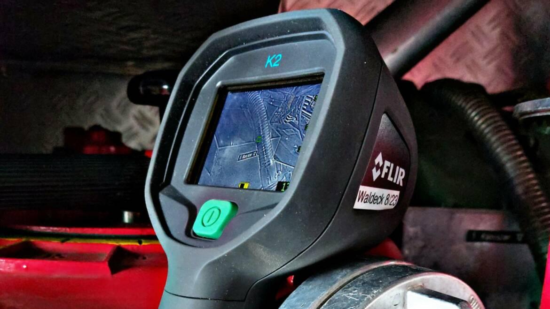 Für bessere Sicht im Rauch – neue Wärmebildkamera im HTLF
