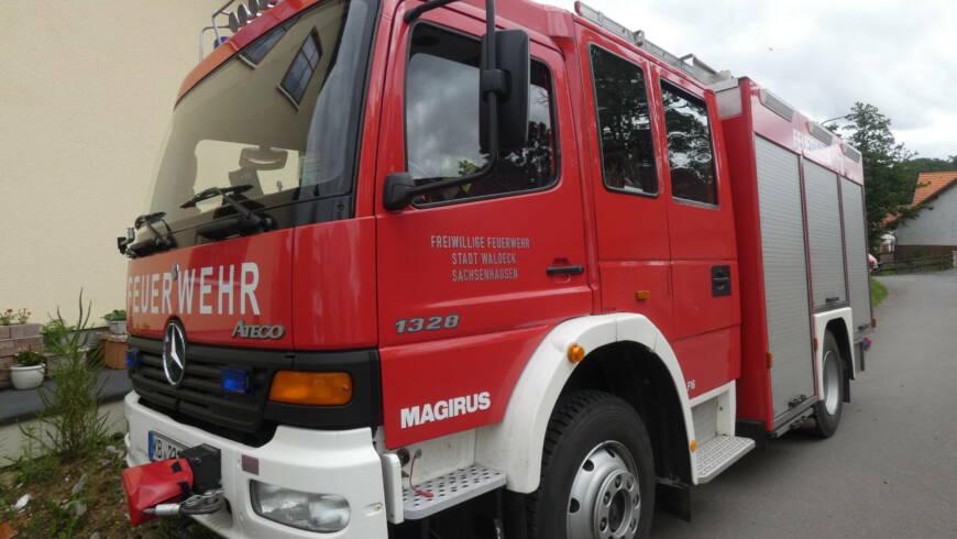 Personenrettung aus Gebäude, Tragehilfe für Schwerlast-RTW