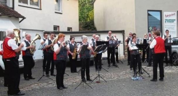 25 jähriges Bestehen Förderverein Musikzug Sachsenhausen